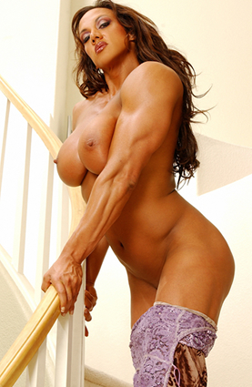 Nude black female body builders vids