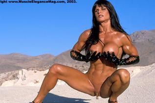 Nude Female Bodybuilder Heather